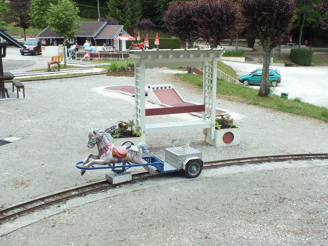Sulky-Rail