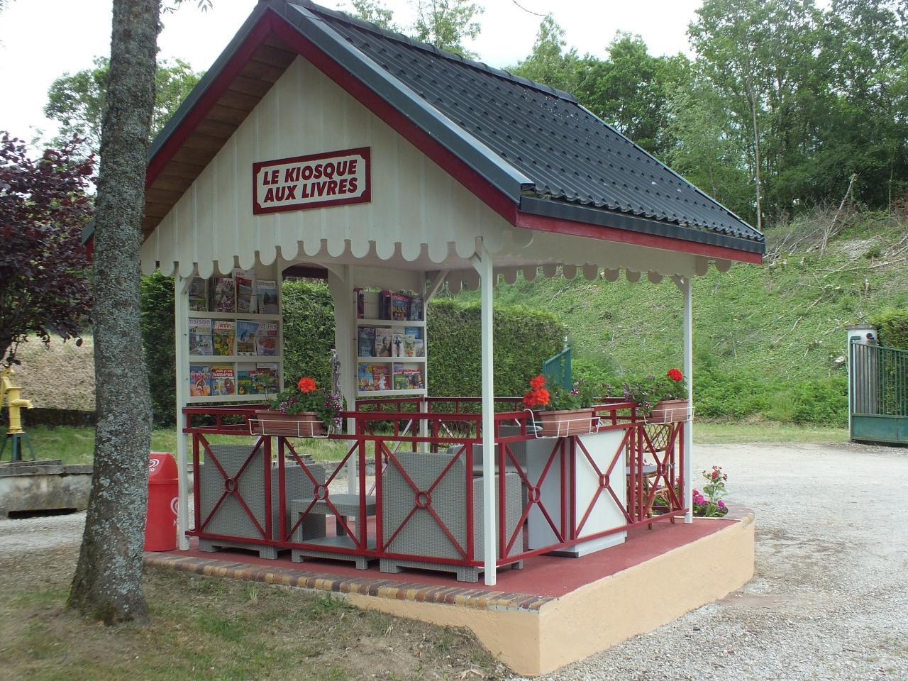 Le kiosque aux livres