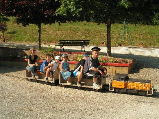 Tours de  train pour petits et grands